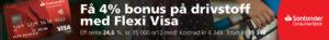Flexi Visa Drivstoffrabatt